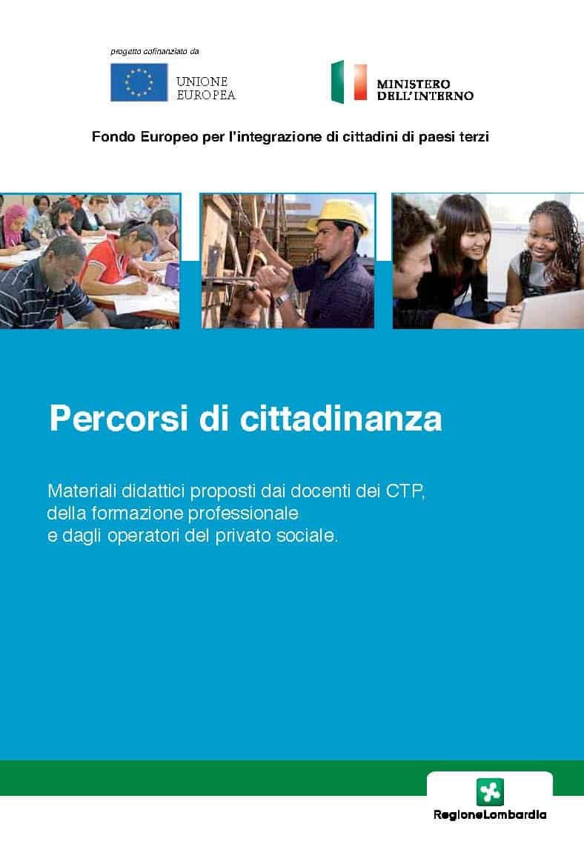 """Guida """"Percorsi di cittadinanza"""" - Fondazione ISMU"""